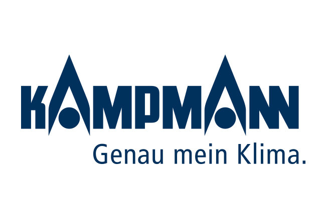 The Kampmann logo lettering