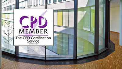 Approved CPD seminar for consultants and contractor